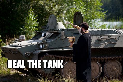 Tank Meme - heal the tank video game logic know your meme