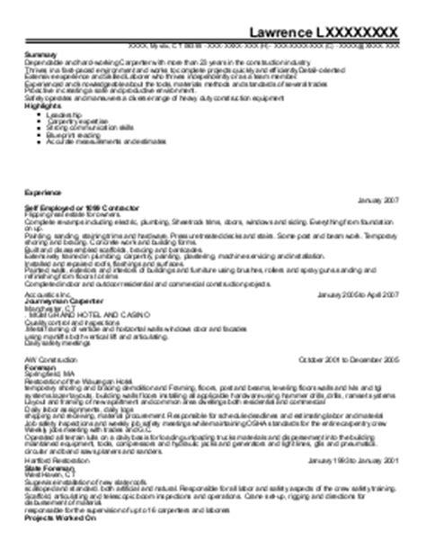 Windows And Door Installer Sle Resume by Window And Door Installer Resume Exle The Hightower Company Houston