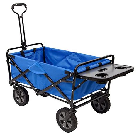 mac wagon with table mac sports collapsible folding outdoor utility wagon