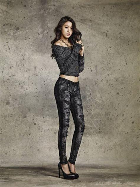 Jacket Korean Style Comby Sk 58 aoa成员金雪炫拍时尚大片 完美身材令人赞 组图 4