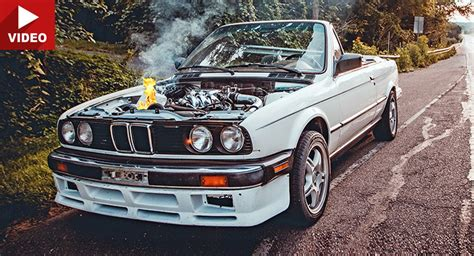 Bmw E30 Turbo by Turbo Bmw 320i E30 Catches At 120 Mph