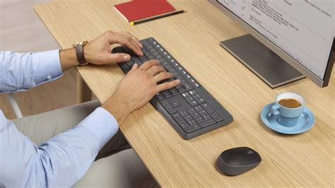 Keyboard Mouse Wireless Logitech logitech mk235 wireless combo keyboard mouse 920 007937