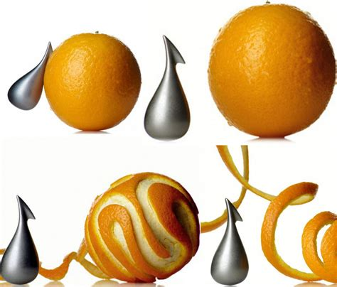 Kitchen And Dining Design Ideas alessi modern apostrophe citrus orange peeler nova68 com