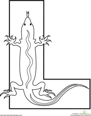 L Coloring Pages For Preschoolers by Letter L Worksheet Education