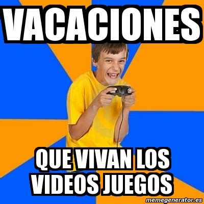 Kid Gamer Meme - meme annoying gamer kid vacaciones que vivan los videos
