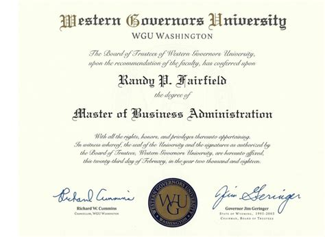 Eastern Washington Mba by How I Googled My Way To An Mba From Western Governors