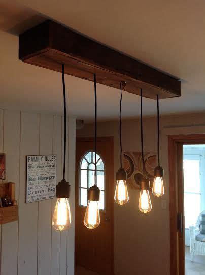light fixture  created   pallet wood