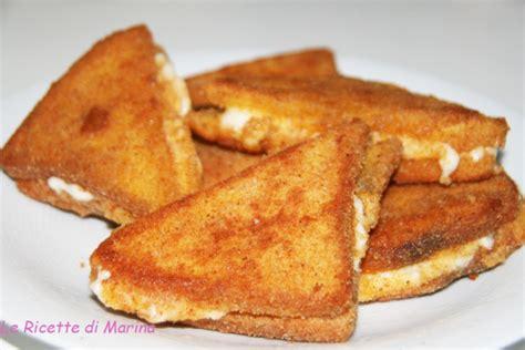 mozzarella in carrozza pangrattato mozzarella in carrozza le ricette di marina