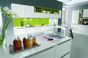 Kitchen Colour Ideas 2014 15 Cocinas Modernas Con Gabinetes Color Blanco