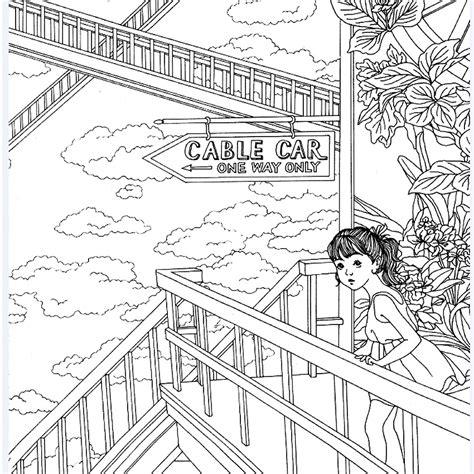 secret garden coloring page 1 secret garden coloring book pdf coloring pages