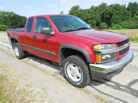 Chevrolet Colorado 4 Door For Sale by Sell Used 2006 Chevy Colorado 4 Door Extended Cab In Bergen New York United States