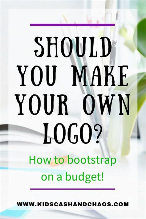 how to build your own business as a housekeeper books how to make your own business logo 3572