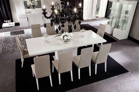 high gloss dining room furniture white high gloss furniture em italia