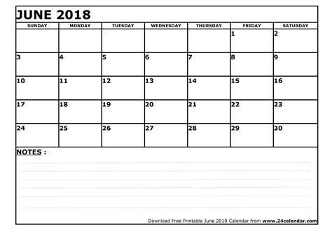 printable calendar blank 2018 blank june 2018 calendar in printable format