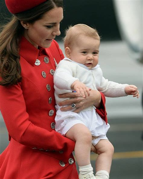 Prince George Wardrobe by Kate Middleton Suffers Embarrassing Faux Pas As She