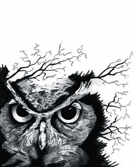 owl tattoo black and white black and white tattoos black and white owl tattoos