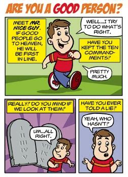 ray comfort tracts comic strip are you a good person