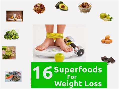 1 weight loss food 16 superfoods for weight loss