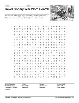 printable word search civil war 10 best images of free civil war worksheets