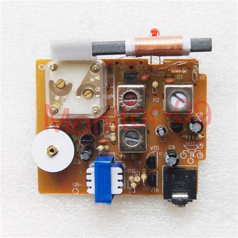 transistor radio kit six transistor silicon semiconductor am radio kit of electronic parts ebay
