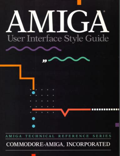retro dev c64 edition books amiga user interface style guide available for