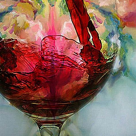 wine glass painting abstract wine glass painting www pixshark com images