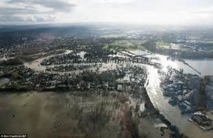 uk weather shocking aerial images show wide scale