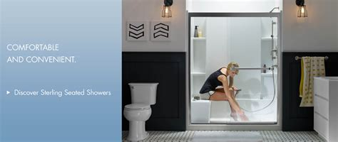 Sterling Plumbing Inc by Sterling Plumbing Bathroom And Kitchen Products Shower