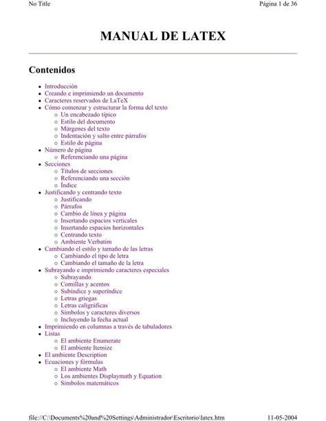 imagenes en latex pdf pdf de programaci 243 n manual de latex