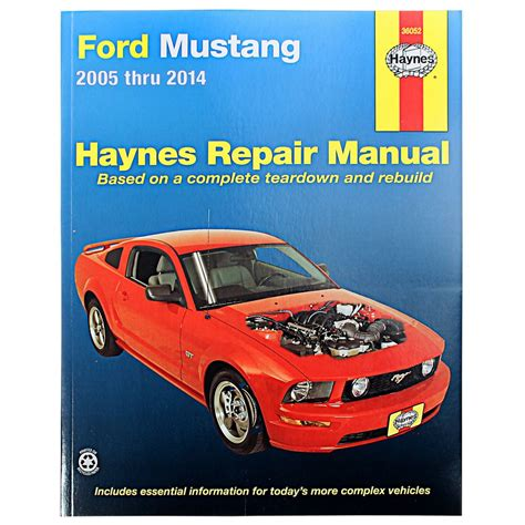 where to buy car manuals 2010 ford f250 navigation system mustang haynes repair manual 2005 2014 cj pony parts