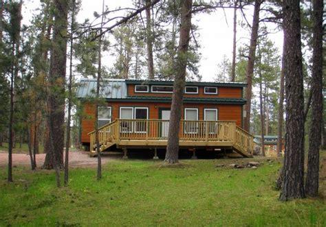 Koa Deluxe Cabin by Mount Rushmore Koa At Palmer Gulch South Dakota Travel