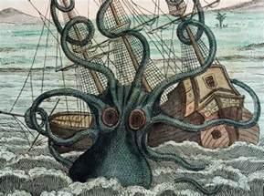 kraken myth encounters science medievalists net