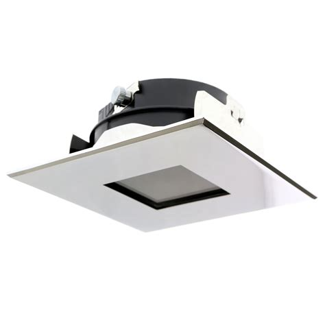 shower recessed light trim lightolier 347cmx 20 lytepoints square chrome recessed