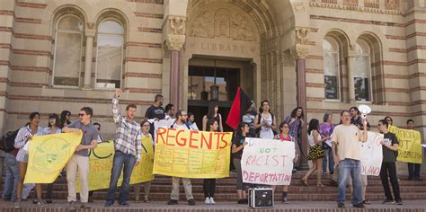 Ucla Mba Fees For International Students by Ucla Students Protest Tuition Costs Other Cus Issues
