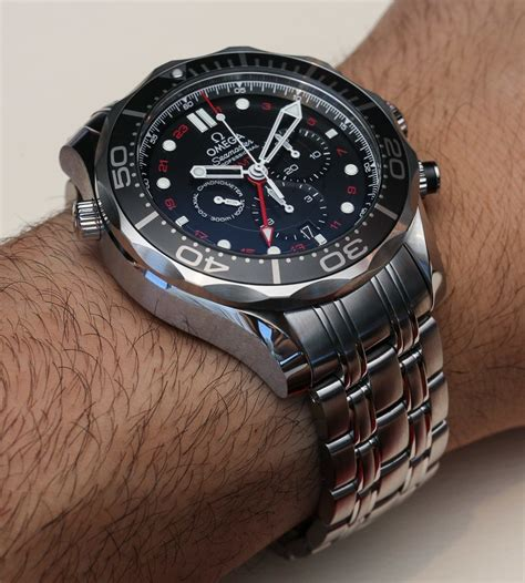 Omega Chronos omega seamaster 300m chronograph gmt co axial on page 2 of 2 ablogtowatch