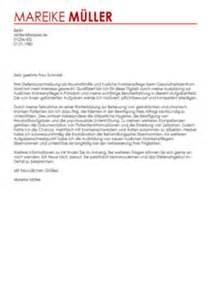Anschreiben Haushaltshilfe Muster Bewerbungsschreiben