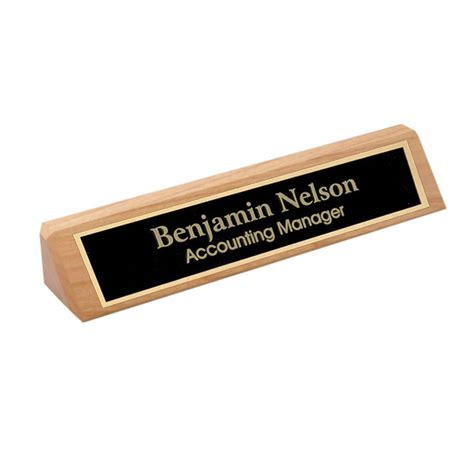name holder for desk wooden desk name holder name holders