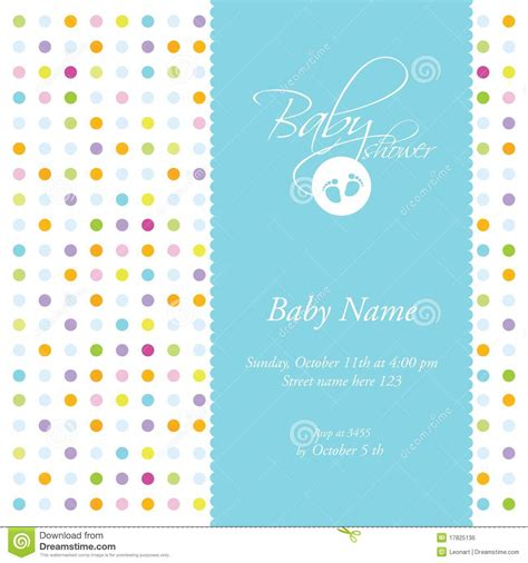 baby card template baby shower card template stock vector image of cheerful