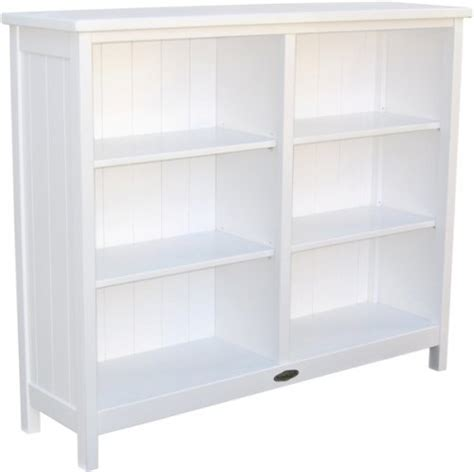Touchwood Bookcases Low Bookcase White