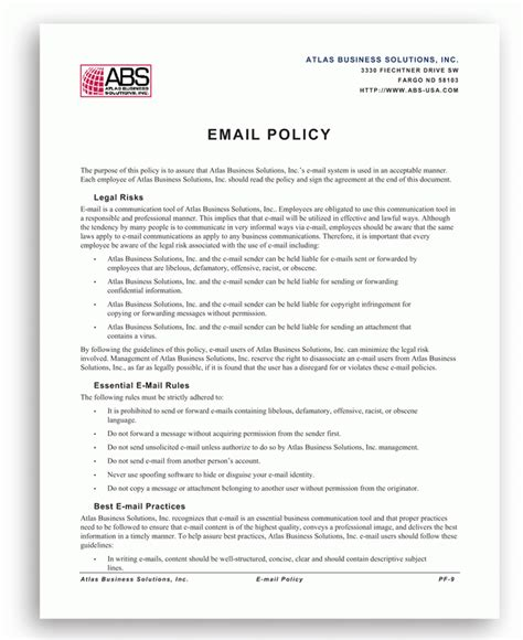 cyber security policy template template design