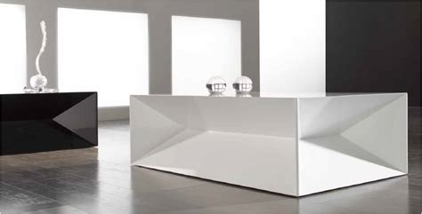 Table Basse Blanche 851 by Table Basse Dyan By Nacher Martine Codaccioni Design D