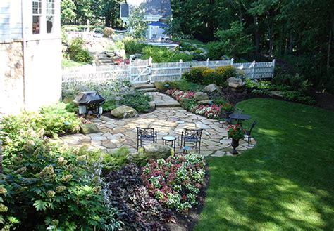 new england backyards new england inspiration landscape design peabody