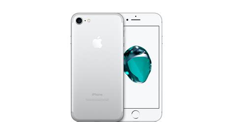 apple iphone 7 iphone 7 32gb silver gsm apple