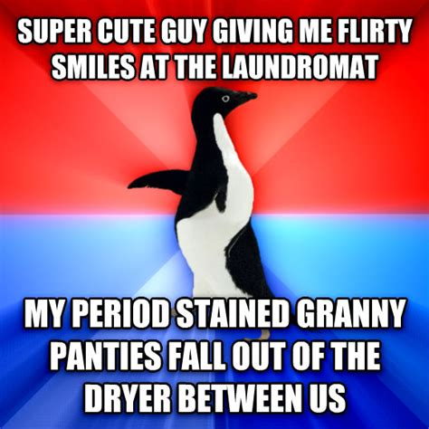 Panties Meme - livememe com socially awesome awkward penguin
