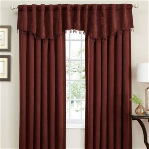 cascade valance curtain insola eden cascade window curtain valance contemporary