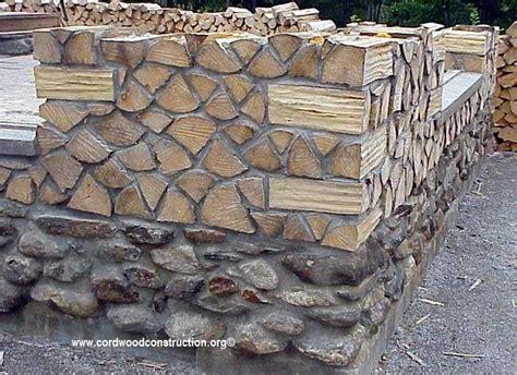 wood le cordwood castle in maine cordwood construction