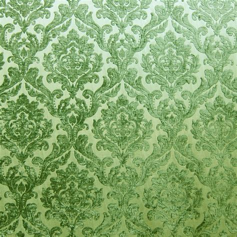 green damask upholstery fabric green chenille damask designer upholstery fabric