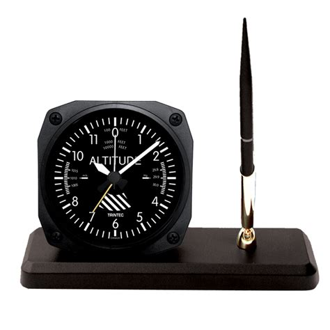 desk clock pen set desk clock and pen set altimeter