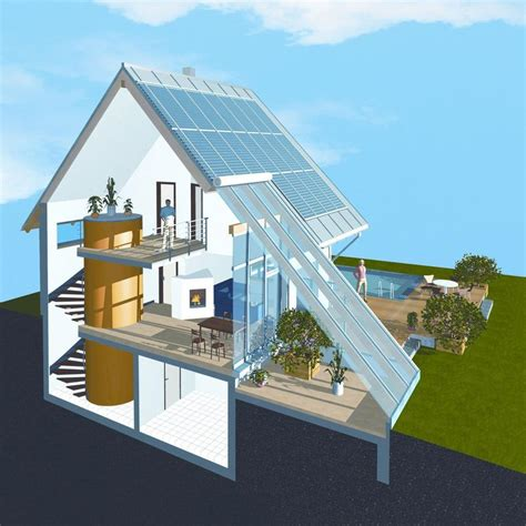 solar home solar houses scientifically evaluated