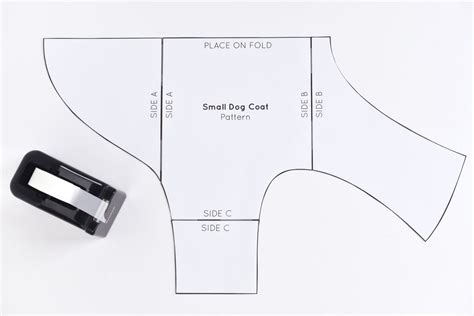 printable pattern for small dog coat free sewing pattern for a warm weatherproof dog coat